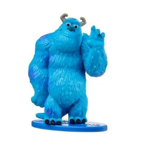 Mini-Figura - Suley - Monstros S.A. - Disney - Mattel