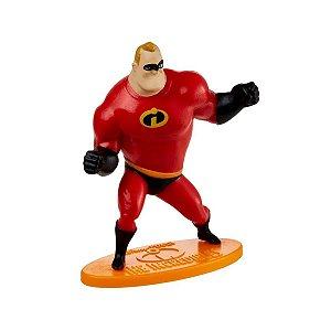 Mini Figura Disney Os Incríveis Sr. Incrível - Mattel