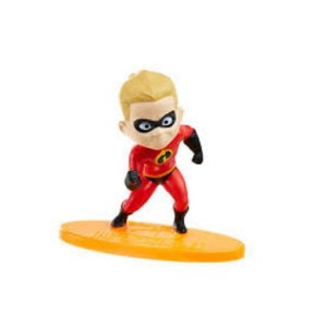 Mini-Figura - Flash - Os Incríveis - Disney - Mattel