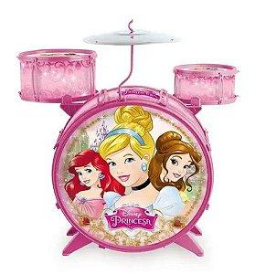 Bateria Acústica Infantil (+3 anos) - Princesas - Disney - Toyng