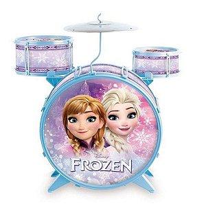 Bateria Acústica Infantil (+3 anos) - Frozen - Disney - Toyng