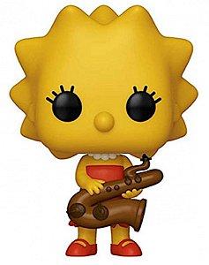 Action Figure - Lisa Simpson - Os Simpsons - Pop! Funko