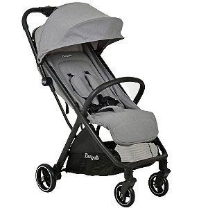 Carrinho de Bebê WOW Grey 0 á 15 kg Grey - Burigotto