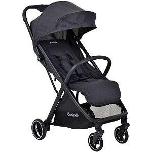 Carrinho de Bebê WOW 0 á 15 kg Black - Burigotto
