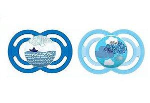 2 Un. Chupeta Perfect Tam.1 (+0M) - Oceano Azul - MAM