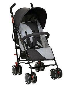 Carrinho de Bebê Urbi 0 á 15kg Gray Burigotto