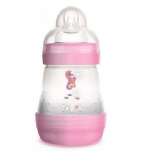 Mamadeira Easy Start 160ml (+0M) - Rosa - MAM
