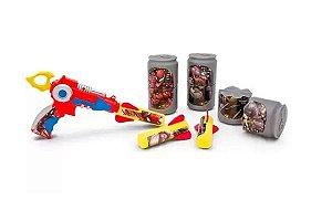 Brinquedo Lança Foguete Com Latinhas Homem Aranha - Toyng