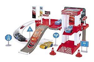 Pista De Corrida Garagem 24hrs Carros Mcqueen E Cruz - Toyng