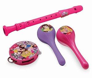 Instrumentos Musicais (+3 anos) - Princesas - Disney - Toyng