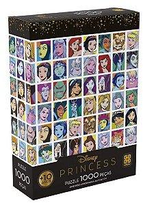Quebra-Cabeça 1000 Peças (+10 anos) - Princesas - Grow