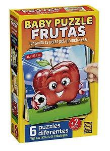 Quebra-Cabeça 12 Peças (+2 anos) - Frutas - Grow