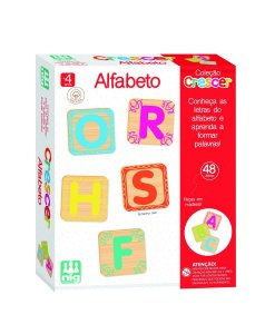 Jogo Educativo (+4 anos) - Alfabeto - NIG Brinquedos