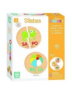 Jogo Educativo (+4 anos) - Sílabas - NIG Brinquedos