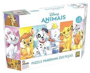 Quebra Cabeça 350 Peças (+8 anos) - Animais - Disney - Grow