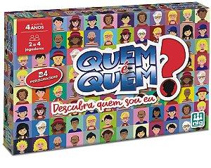 Jogo Quem é Quem? (+6 anos) - NIG Brinquedos
