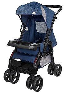 Carrinho de Bebê Upper Azul (Até 15 Kg) - Tutti Baby
