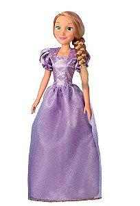 Boneca Mini My Size (+3 anos) - Rapunzel - Disney - Novabrink