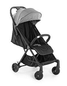 Carrinho de Bebê Jamby Preto Cinza 0 à 15 kg - Dzieco