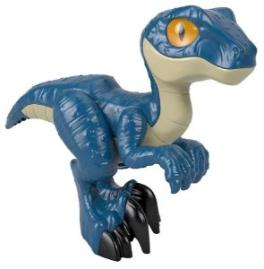 Boneco Imaginext (+3 anos) - Dinossauro Raptor - Jurassic World - Fisher Price