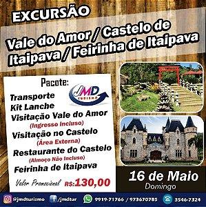 Vale do Amor + Itaipava | Petrópolis/RJ