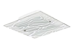 Blumenau - Plafon Quad 30cm Led 20W Vd Detal Risc Ac Cristal Led