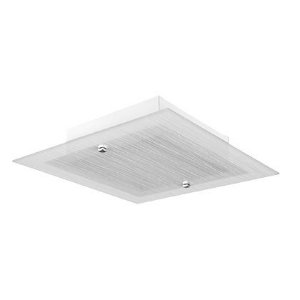 Plafon Flex Quad 22cm Led 15W Jat c/B Lisa Ac Cr Led
