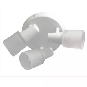 Spot New Short G9 3 Lâmpadas Branco
