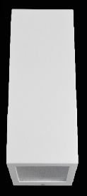 Arandela Quadrada 29x9x9cm 2 Vidros
