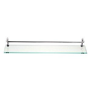 Porta Shampoo 15x50 Incolor com Aro