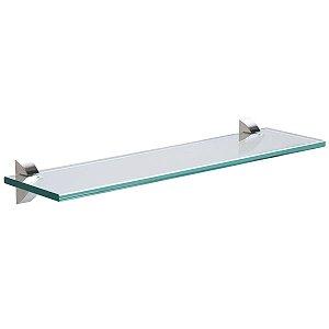 Prateleira Reta Glass 40x10