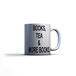 Caneca Yuzo 23x9,5cm Books, Tea & More Books