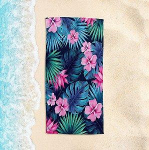 Toalha de Praia Yuzo 70x140cm Tropical