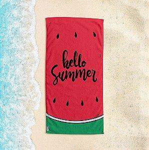 Toalha de Praia Yuzo 70x140cm Melancia Hello Summer
