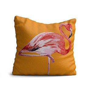 Almofada Yuzo Avulsa 45x45cm Flamingo Colorida
