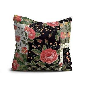 Almofada Yuzo Avulsa 45x45cm Floral Colorida