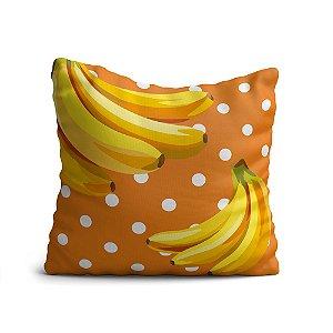 Almofada Yuzo Avulsa 45x45cm Fruta Banana