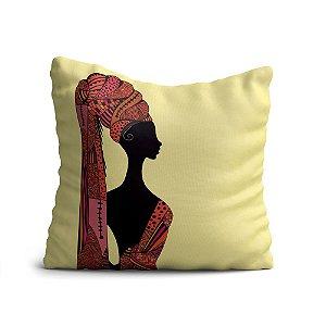 Capa de Almofada Yuzo Avulsa 45x45cm Egípcia Colorida