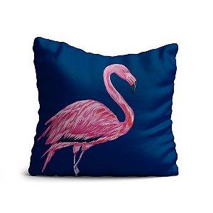 Capa de Almofada Yuzo Avulsa 45x45cm Flamingo Colorida