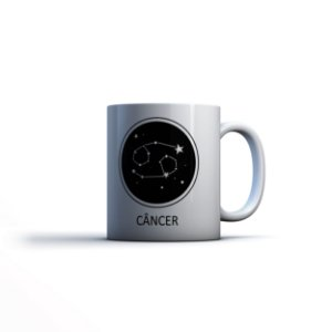 Caneca Yuzo 23x9,5cm Signos Câncer