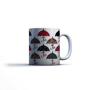 Caneca Yuzo 23x9,5cm Umbrella Colorida