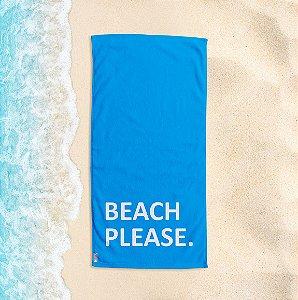 Toalha de Praia Yuzo 70x140cm Azul Beach Please.