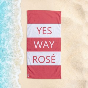 Toalha de Praia Yuzo 70x140cm Yes Way Rosé