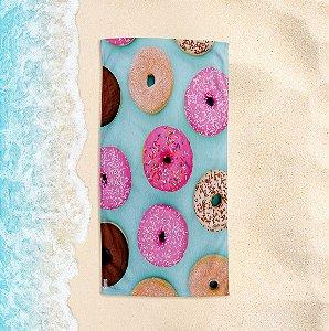 Toalha de Praia Yuzo 70x140cm Donuts