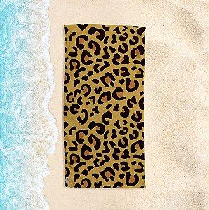 Toalha de Praia Yuzo 70x140cm Animal Print