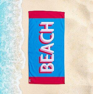 Toalha de Praia Yuzo 70x140cm Azul Beach