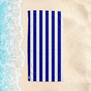 Toalha de Praia Yuzo 70x140cm Listrada Azul