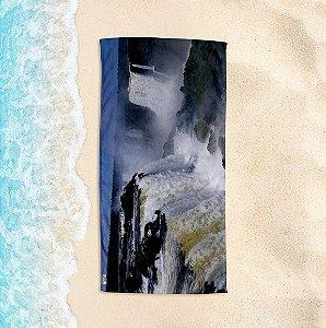 Toalha de Praia Yuzo 70x140cm Cartão Postal Cataratas