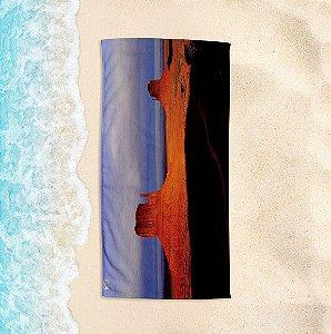 Toalha de Praia Yuzo 70x140cm Cartão Postal Deserto