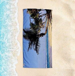 Toalha de Praia Yuzo 70x140cm Cartão Postal Praia